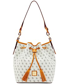 Blakely Signature Tasha Leather Drawstring
