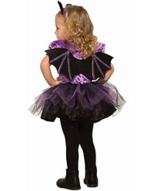 Baby Girls Deluxe Bat Witch Costume