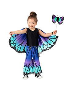 Baby Girls Butterfly Pants