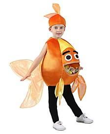 Baby Girls and Boys Feed Me Beta Fish Costume