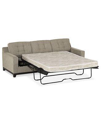 Clarke Fabric Queen Sleeper Sofa Bed Created for Macy s Furniture Macy s