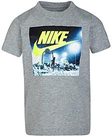 Little Boys Snowy Hoops T-Shirt