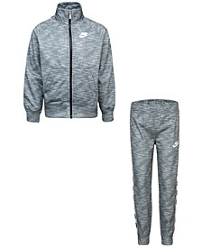 Toddler Boys 2-Pc. Logo-Tape-Trim Jacket & Jogger Pants Set