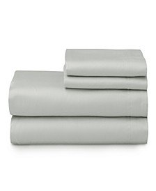The Cotton Sateen Twin Sheet Set