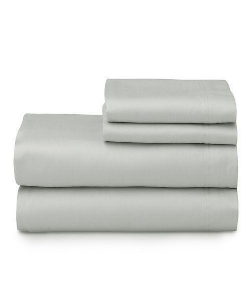 Welhome The Cotton Sateen Twin Sheet Set