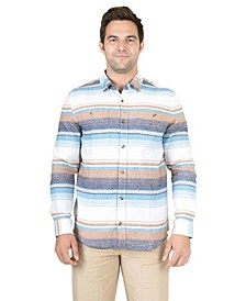 Men's Baja Button Down Flannel Shirt