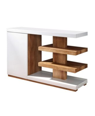 Jasmino Open Shelf End Table