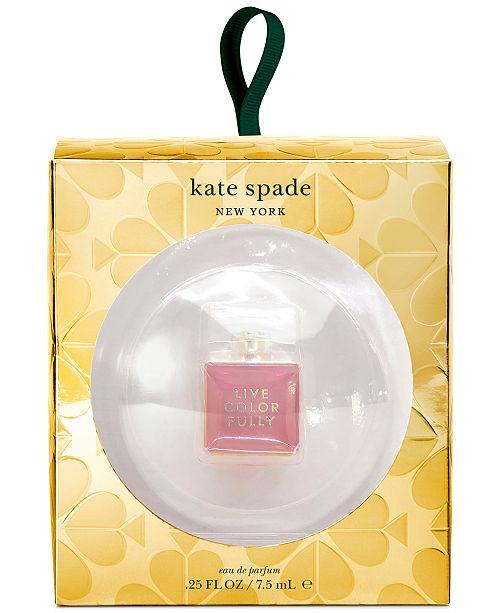 kate spade new york Live Colorfully Eau de Parfum Ornament