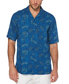 Men's Hibiscus Camp Shirt