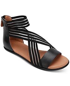 by Kenneth Cole Women's Break Elastic Stripe Sandals