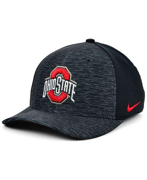 Nike Ohio State Buckeyes Velocity Flex Stretch Fitted Cap