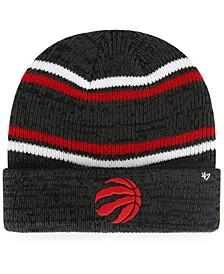 Toronto Raptors Marled Stripe Cuff Knit Hat