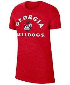 Women's Georgia Bulldogs Marled T-Shirt