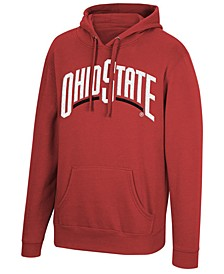 Men's Big & Tall Ohio State Buckeyes Wordmark Hooded Sweatshirt