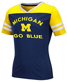 Big Girls Michigan Wolverines Faboo T-Shirt