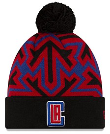 Los Angeles Clippers Big Flake Pom Knit Hat