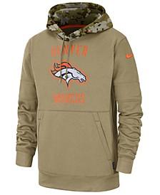 Men's Denver Broncos Salute To Service Therma Hoodie