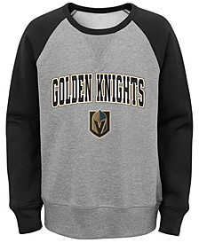 Big Boys Vegas Golden Knights Chief Crewneck Sweatshirt