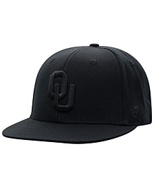 Oklahoma Sooners All Black Core Fitted Cap