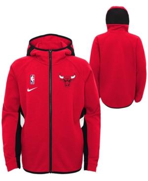 Nike Big Boys Chicago Bulls Showtime Hooded Jacket