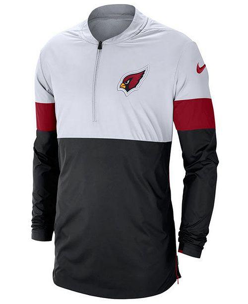 Nike Men's Arizona Cardinals Lightweight Coaches Jacket