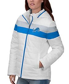 Women's Detroit Lions Tie Breaker Polyfill Jacket