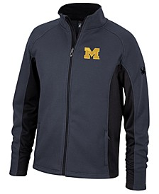 Spyder Men's Michigan Wolverines Constant Full-Zip Sweater Jacket