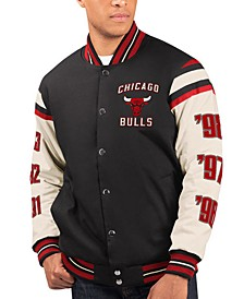 Men's Chicago Bulls Victory Formation Commemorative Varsity Jacket