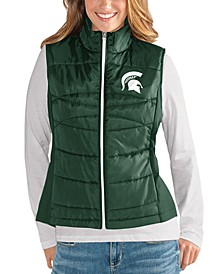 Women's Michigan State Spartans Puffer Vest