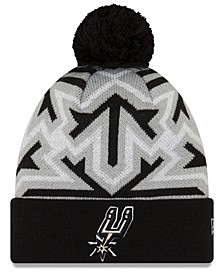 San Antonio Spurs Big Flake Pom Knit Hat