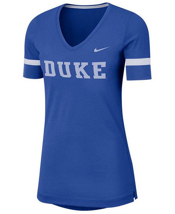 Nike Women's Duke Blue Devils Fan V-Neck T-Shirt