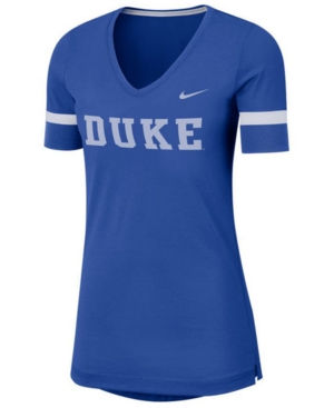 Nike Women's Duke Blue Devils Fan V-Neck T-Shirt
