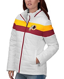 Women's Washington Redskins Tie Breaker Polyfill Jacket