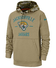 Men's Jacksonville Jaguars Salute To Service Therma Hoodie