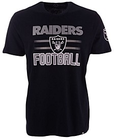 Men's Oakland Raiders Edge Rush Super Rival T-Shirt