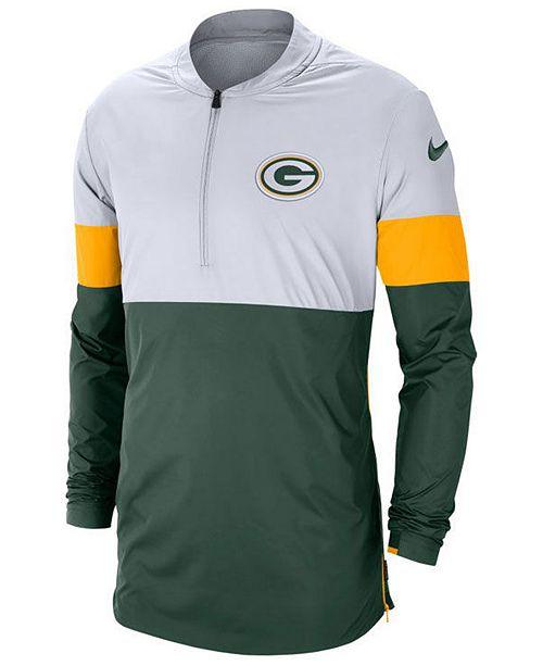 Nike Men's Green Bay Packers Lightweight Coaches Jacket