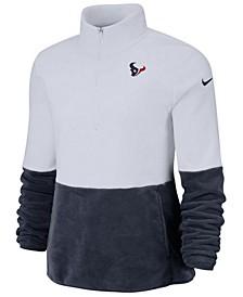 Women's Houston Texans Half-Zip Therma Fleece Pullover
