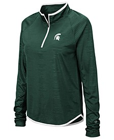 Women's Michigan State Spartans Soulmate Quarter-Zip Pullover