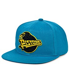 Detroit Pistons Full Court Pop Snapback Cap