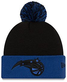 Orlando Magic Black Pop Knit Hat