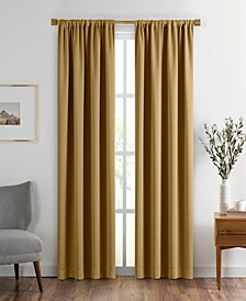 "Vanderbilt Extra Wide Blackout Window Curtain, 52""x108"""