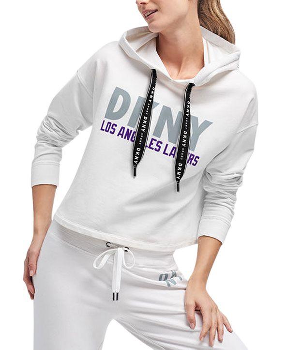 DKNY Women's Los Angeles Lakers Maddie Hoodie