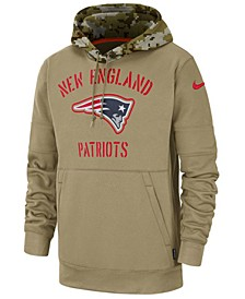 Men's New England Patriots Salute To Service Therma Hoodie