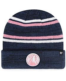 Minnesota Timberwolves Marled Stripe Cuff Knit Hat