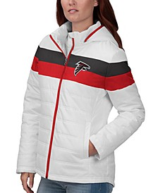 Women's Atlanta Falcons Tie Breaker Polyfill Jacket