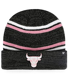 Chicago Bulls Marled Stripe Cuff Knit Hat