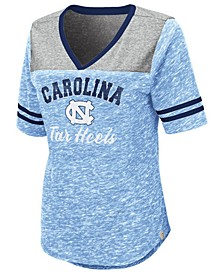 Women's North Carolina Tar Heels Mr Big V-neck T-Shirt