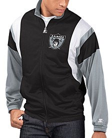Men's Oakland Raiders The Contender Track Jacket