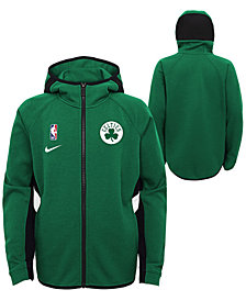 Nike Big Boys Boston Celtics Showtime Hooded Jacket