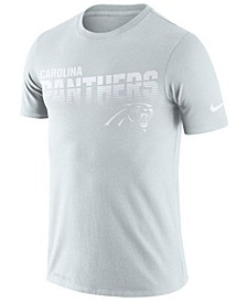 Men's Carolina Panthers 100th Anniversary Sideline Legend Line of Scrimmage T-Shirt
